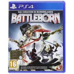BATTLEBORN per Playstation 4 PS4 nuovo italiano BATTLE BORN