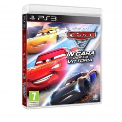 Preordine 14 settembre 2017 CARS 3 IN GARA PER LA VITTORIA per Playstation 3 PS3