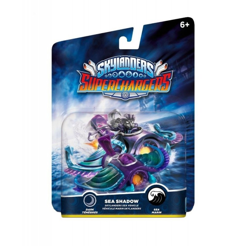 veicolo SEA SHADOW per Skylanders SuperChargers Nuovo SUPER CHARGERS