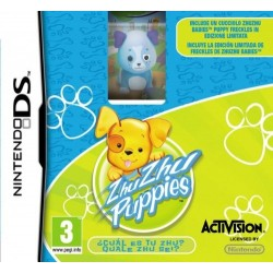 ZHU ZHU PUPPIES BUNDLE per Nintendo DS Dsi XL 3DS 2DS nuovo italiano NDS