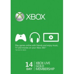 Abbonamento XBOX LIVE GOLD 14 giorni 360 one 14 Days invio immediato