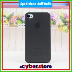 cover Bumper per IPHONE 4 4S ultra sottile 0.28 mm ultra thin NERA
