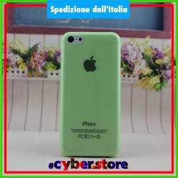 cover custodia per IPHONE 5C ultra sottile 0.28 mm ultra thin VERDE