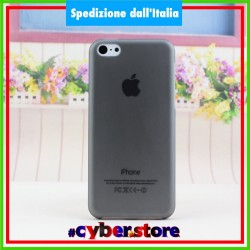 cover custodia per IPHONE 5C ultra sottile 0.28 mm ultra thin NERA