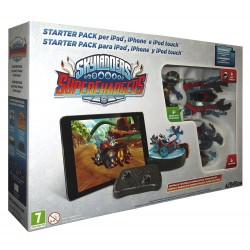 SKYLANDERS SUPER CHARGERS starter pack per TABLET PC iOS Android SUPERCHARGERS