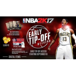 Contenuto aggiuntivo DLC EARLY TIP OFF per NBA 2K17 PS4 Playstation 4