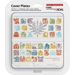 COVERPLATE decorativa skin per New Nintendo 3DS MONSTER HUNTER LIMITED