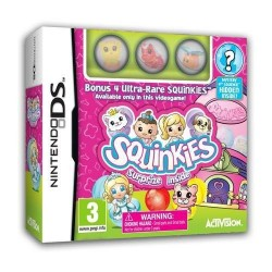 SQUINKIES BUNDLE per Nintendo DS Dsi XL 3DS 2DS nuovo italiano NDS
