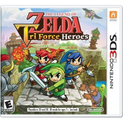 THE LEGEND OF ZELDA TRI FORCE HEROES 3D Nintendo 3DS 3DSXL 2DS nuovo italiano