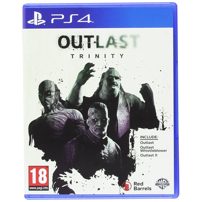 Preordine 28 aprile OUTLAST TRINITY nuovo Playstation 4 PS4