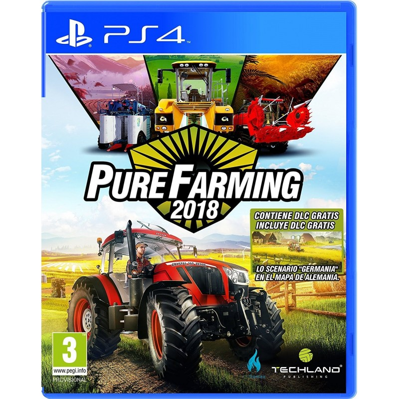 Preordine 13 marzo - PURE FARMING 2018 nuovo PLAYSTATION 4 PS4 italiano