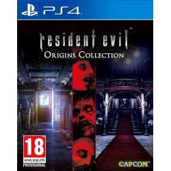 RESIDENT EVIL ORIGINS COLLECTION per Sony Playstation 4 PS4 nuovo