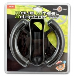 Volante compatibile per Move Playastation 3 - nuovo move wheel adaptor PS3