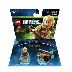 Lego Dimensions Fun Pack - LORD OF THE RINGS LEGOLAS 71219 il Signore degli Anelli
