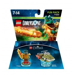 Lego Dimensions Fun Pack - LEGENDS OF CHIMA CRAGGER 71223