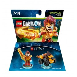 Lego Dimensions Fun Pack - LEGENDS OF CHIMA LAVAL 71222