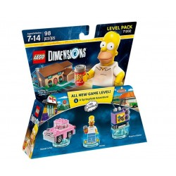 Lego Dimensions Level Pack - THE SIMPSONS HOMER 71202 A Springfield Adventure