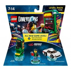 Lego Dimensions Level Pack - MIDWAY ARCADE 71235 Arcade Games