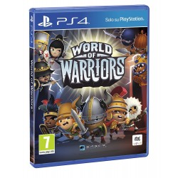Preordine 21 marzo 2018 - WORLD OF WARRIORS nuovo Playstation 4 PS4