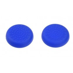 Set 2 Gommini Grips Analogici Thumbstick PS4 Playstation 4 azzurro