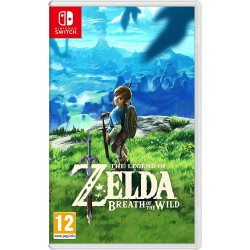 THE LEGEND OF ZELDA BREATH OF THE WILD per Nintendo SWITCH italiano