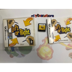 LEFT OR RIGHT TUTTI AMBIDESTRI per Nintendo DS Dsi XL 3DS 2DS NDS