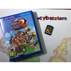 ONE PIECE UNLIMITED WORLD RED per Sony PSVITA garantito italiano PS Vita
