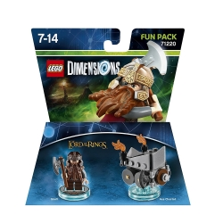 Lego Dimensions Fun Pack - LORD OF THE RINGS GIMLI 71220 il Signore degli Anelli