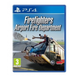 FIREFIGHTERS AIRPORT FIRE DEPARTMENT nuovo per Playstation 4 PS4