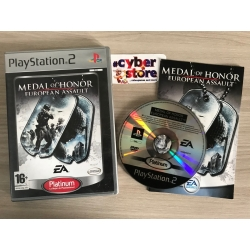 MEDAL OF HONOR EUROPEAN ASSAULT per Playstation 2 PS2 usato pl