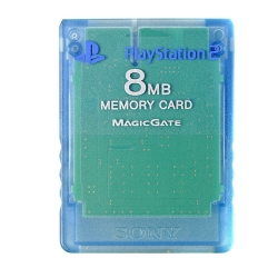 MEMORY CARD originale SONY Playstation 2 8MB PS2 memoria 8 MB MAGIC GATE tra