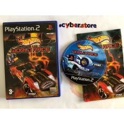HOT WHEELS WORLD RACE Playstation 2 PS2 usato garantito italiano