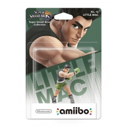 AMIIBO LITTLE MAC Super Smash Bros - nuovo Nintendo No. 16