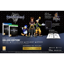 Preordine 29 gennaio 2019 - KINGDOM HEARTS III 3DELUXE EDITION PS4 Playstation 4