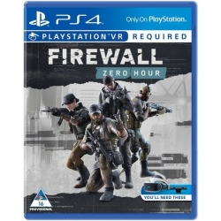 Preordine 29 agosto 2018 - FIREWALL ZERO HOUR VR Playstation 4 PS4