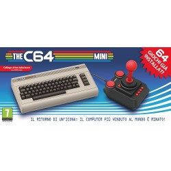 console THE C64 mini (commodore 64) con 64 giochi