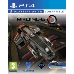 RADIAL-G RACING REVOLVED nuovo per PLAYSTATION 4 PS4
