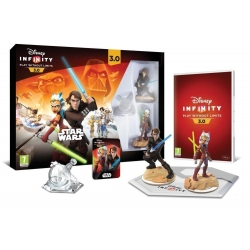 nuovo DISNEY INFINITY 3.0 STAR WARS starter pack per PS3 Playstation 3