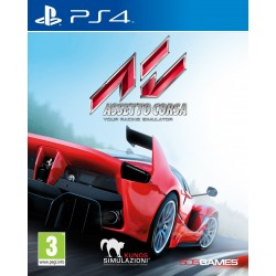 ASSETTO CORSA nuovo per PS4 Playstation 4 italiano