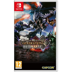 Preordine 28 agosto 2018 - MONSTER HUNTER GENERATIONS ULTIMATE Nintendo Switch