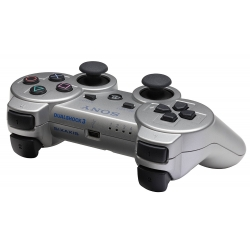 Controller ORIGINALE Sony Playstation 3 Dualshock Wireless PS3 Silver DS3