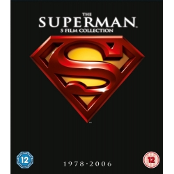 SUPERMAN COLLECTION - 5 DVD + T-shirt