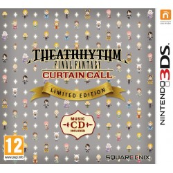 THEATRHYTHM FINAL FANTASY CURTAIN CALL LIMITED EDITION nuovo Nintendo 3DS