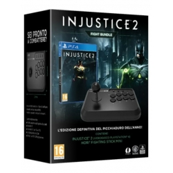 INJUSTICE 2 ULTIMATE FIGHT BUNDLE con HORI FIGHTING STICK PS4 Playstation 4