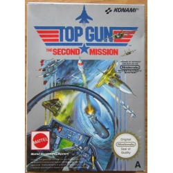 TOP GUN THE SECOND MISSION per NES Nintendo PAL