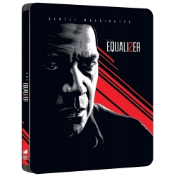 Preorder 9 gennaio 2019 - THE EQUALIZER 2 SENZA PERDONO - Blu-Ray Steelbook Edition