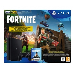 NUOVA Console Sony Playstation 4 SLIM E Chassis 500 GB + Fortnite Voucher PS4 500GB