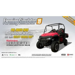 DLC Mahindra Retriever per Farming Simulato 2019 PS4 Playstation 4 19 code bonus