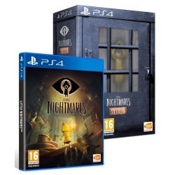 LITTLE NIGHTMARES COLLECTOR SIX EDITION nuovo Playstation 4 PS4 italiano
