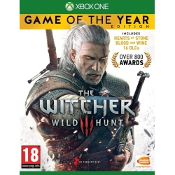THE WITCHER 3 WILD HUNT GAME OF THE YEAR EDITION Xbox One xboxone III